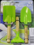 Set de herramientas infantiles para el huerto