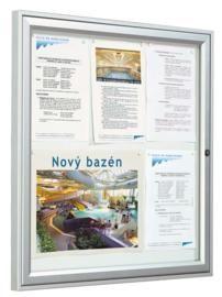 soporte de informação, paneis de informação, vitincom, procity, vitrinas de exterior