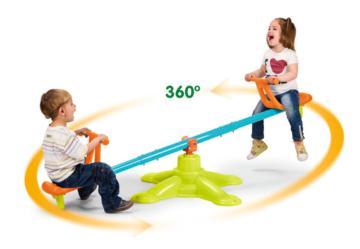 balancin twister,balancín,sube y baja,famosa,feber,smoby,balancín barato,balancín de exterior.