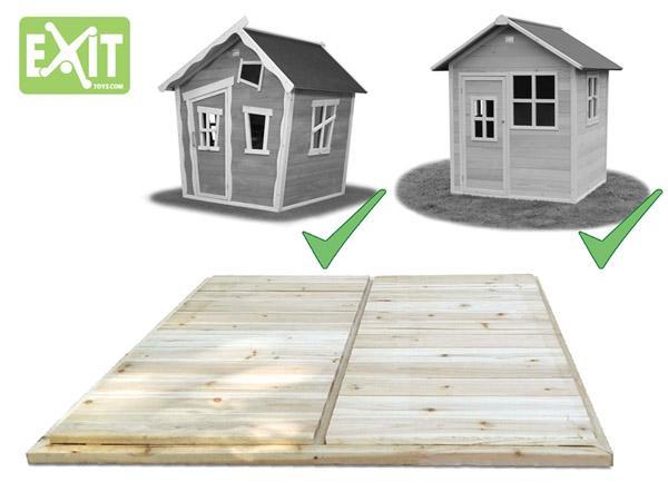Terra de fusta per les casetes loft 100 for Casetes de fusta per jardi