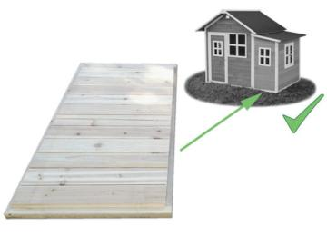 Suelo de madera para la casita Loft 150, casitas de madera, casita de madera, casa de madera, casa de madera infantil, exit toys, casitas infantiles, casitas de jardín, casitas de madera infantiles, casitas de jardín de madera, tienda de casitas, casitas