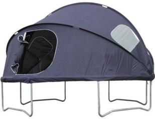 tienda para cama elastica, camas elásticas, comprar camas elásticas, comprar trampolines, casita elevada, tienda elevada