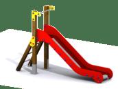 Escorregador de parque infantil
