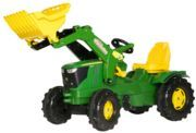 Tractor de pedais John Deere com rodas de plastico