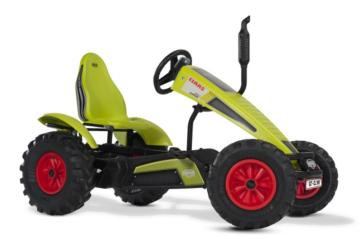 Tractor de pedales elétrico BERG CLAAS E-BFR, tractores infantiles, tractores eléctricos infantiles, tractores de pedales eléctricos, el mejor tractor infantil, tractores de pedales con ayuda eléctrica, tractores berg toys, berg toys españa, berg