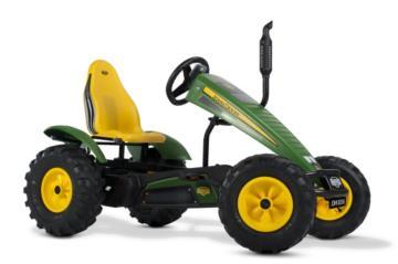 Tractor de pedales eléctrico BERG John Deere E-BFR, tractores infantiles, tractores eléctricos infantiles, tractores de pedales eléctricos, el mejor tractor infantil, tractores de pedales con ayuda eléctrica, tractores berg toys, berg toys españa, berg