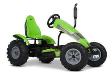 Tractor de pedales eléctrico BERG DEUTZ-FAHR E-BFR, tractores infantiles, tractores eléctricos infantiles, tractores de pedales eléctricos, el mejor tractor infantil, tractores de pedales con ayuda eléctrica, tractores berg toys, berg toys españa, berg