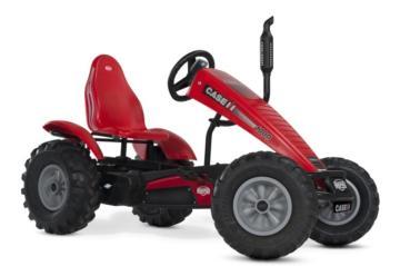 Tractor de pedales eléctrico BERG CASE IH E-BFR, tractores infantiles, tractores eléctricos infantiles, tractores de pedales eléctricos, el mejor tractor infantil, tractores de pedales con ayuda eléctrica, tractores berg toys, berg toys españa, berg
