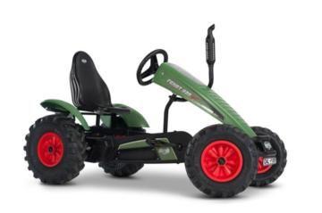 tractor de pedales fendt, berg toys, coches de pedales, tractores infantiles