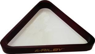 Triángulo para billar de madera