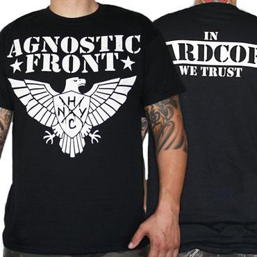 AGNOSTIC FRONT Eagle 2012 T-shirt / Camiseta