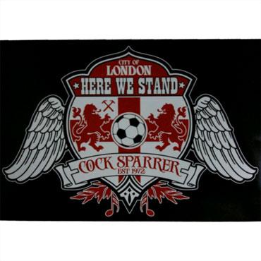 COCK SPARRER City Of London sticker / Pegatina