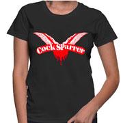 COCK SPARRER Logo T-shirt camiseta de chica