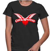 Buy COCK SPARRER Logo T-shirt at Runnin Riot Mailorder