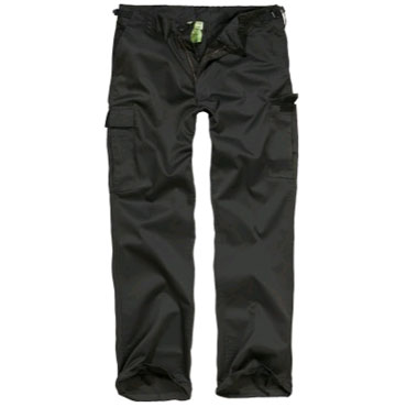 US-Rangers Trousers Black / US-Rangers Pantalones Negros