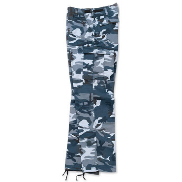 US-RANGERS Trousers Blue Camouflage / US-RANGERS Traousers Camuflaje Azul