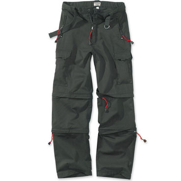 TREKKING TROUSERS Black / Negro