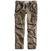 SURPLUS PREMIUM SLIMMY Woodland Washed / Pantalón Largo