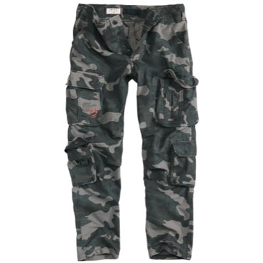 SURPLUS AIRBONE SLIMMY Blackcamo / PANTALONES LARGOS