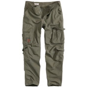 SURPLUS AIRBONE SLIMMY Olive Washed / PANTALONES LARGOS
