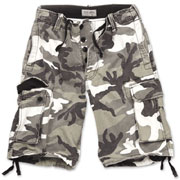 SURPLUS Vintage shorts Urban Washed / Pantalon corto camuflaje claro Ropa Militar