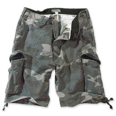 SURPLUS Vintage shorts Nightcamo Washed / Pantalones cortos camuflaje Ropa Militar