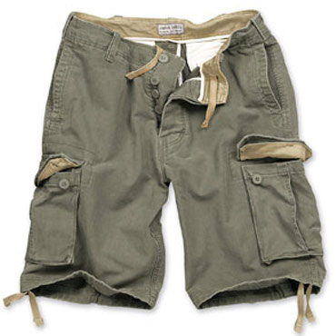 Vintage shorts Olive Washed