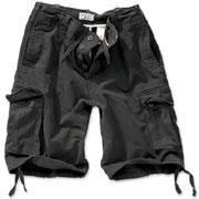 SURPLUS Vintage shorts Black / Pantalones cortos ropa militar