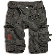 SURPLUS ROYAL SHORTS Blackcamo / Camuflaje Oscuro