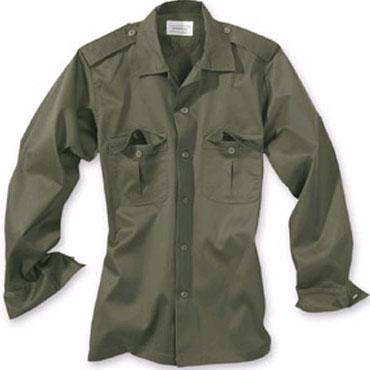 SURPLUS US shirt 1/1 olive / Camisa de manga larga oliva