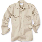SURPLUS US shirt 1/1 beige / Camisa de manga larga beige