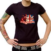 COCK SPARRER England Belongs to me Camiseta chica