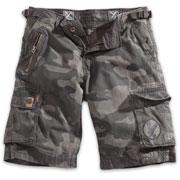 SURPLUS Xylontum shorts Black Camo/ Pantalones cortos