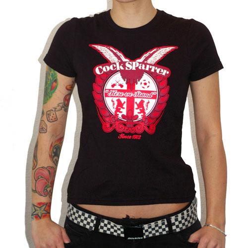 COCK SPARRER 1972 Girl T-shirt