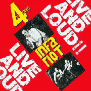 4-SKINS/INFA RIOT: Live & Loud CD