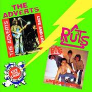 ADVERTS/RUTS: Live & Loud CD