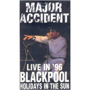 MAJOR ACCIDENT: Live in Blackpool Video ULTIMAS COPIAS