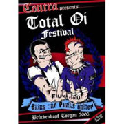 TOTAL OI! FESTIVAL DVD Skins and punks united (Schuster Jungs, Oxo 86, Troopers, Berliner Weisse, Krawall Bruder...)