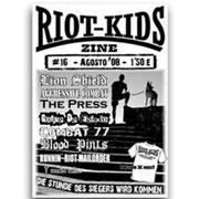 RIOT KIDS Skinzine nº16 (Lion Shield, Aggressive Combat, The Press, Golpe de Estado, Combat 77, Bloodpints, Runnin Riot Mailorder...)