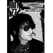 RIOT 77 Fanzine nº13 (The Aggrolites, Damaged Goods, Dillinger Four, John Cooper Clarke, Don Letts, etc...)