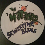 METEORS Sewertime Blues PICTURE 12 inches LP