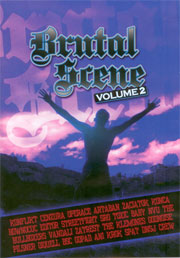 V/A: Brutal Scene Vol. 2 Czech & Slovak punk, Oi! and Hardcore DVD