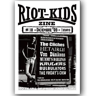 RIOT KIDS Skinzine Nº18 ( The Cliches, Ruffy, Stew, etc...)