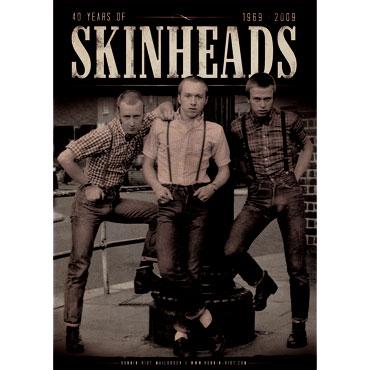 Consigue gratis este poster conmemorando los 40 años del movimiento skinhead en Runnin Riot Mailorder
