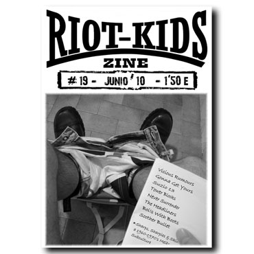 RIOT KIDS Skinzine nº19 (Vicious Rumours, Gonna Get Yours, Never Surrender...)