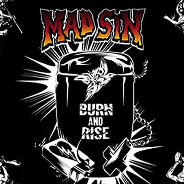MAD SIN Burn and Rise LP (Limited 750 Yellow)