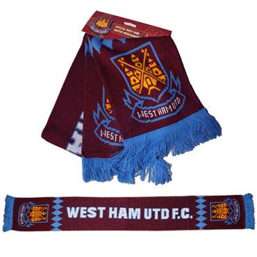 WEST HAM UNITED Scarf / Bufanda Official Merchandise