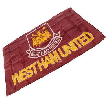 WEST HAM UNITED Flag / Bandera Official Merchandise