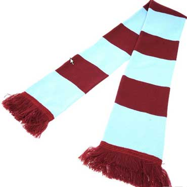 SUPPORTERS WEST HAM UNITED Scarf / Bufanda