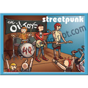 PLAYMOBIL STREETPUNK OI! BAND POSTER